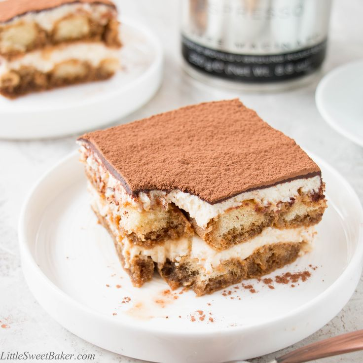This version has all the great taste of a traditional Tiramisu, but it's made without the raw eggs.