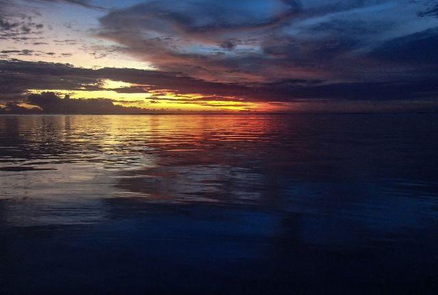 Grown-up Travel Guide Daily Photo: Sunset from Sugar Beach, Flic-en-Flac, Mauritius