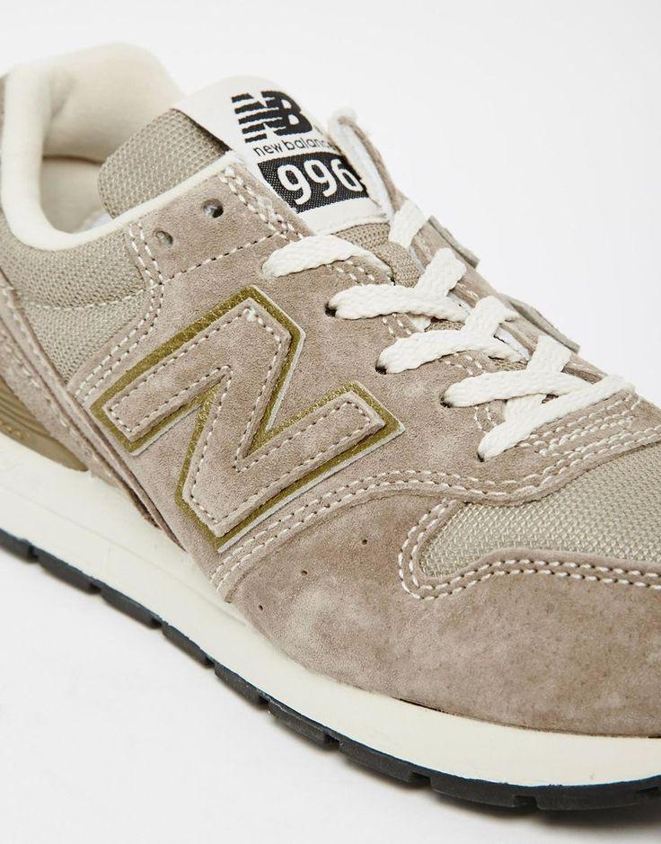 new balance 996 beige suede