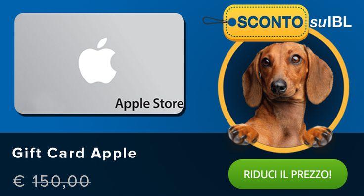 Il prezzo? Lo scegli tu! #giftcard #applestore #madai