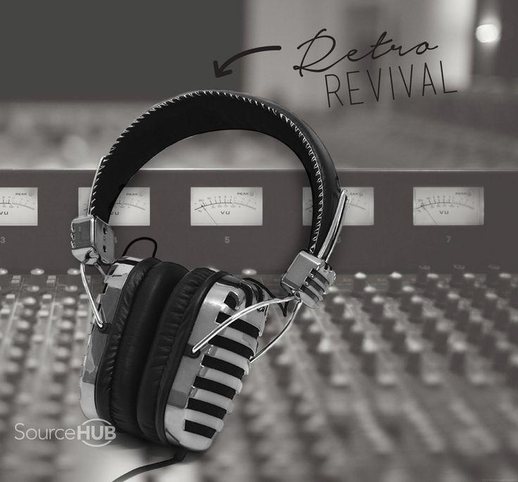 Headphones from our Retro Range - JB Hifi, Australia. - SourceHub Group