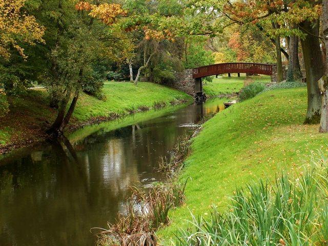 Autumn in Żelazowa Wola, Mazowsze, Poland /  Chopin's most loved place