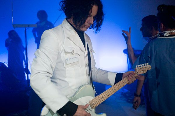 Inside Jack White's Secret London Psych Ward Show | Music News | Rolling Stone