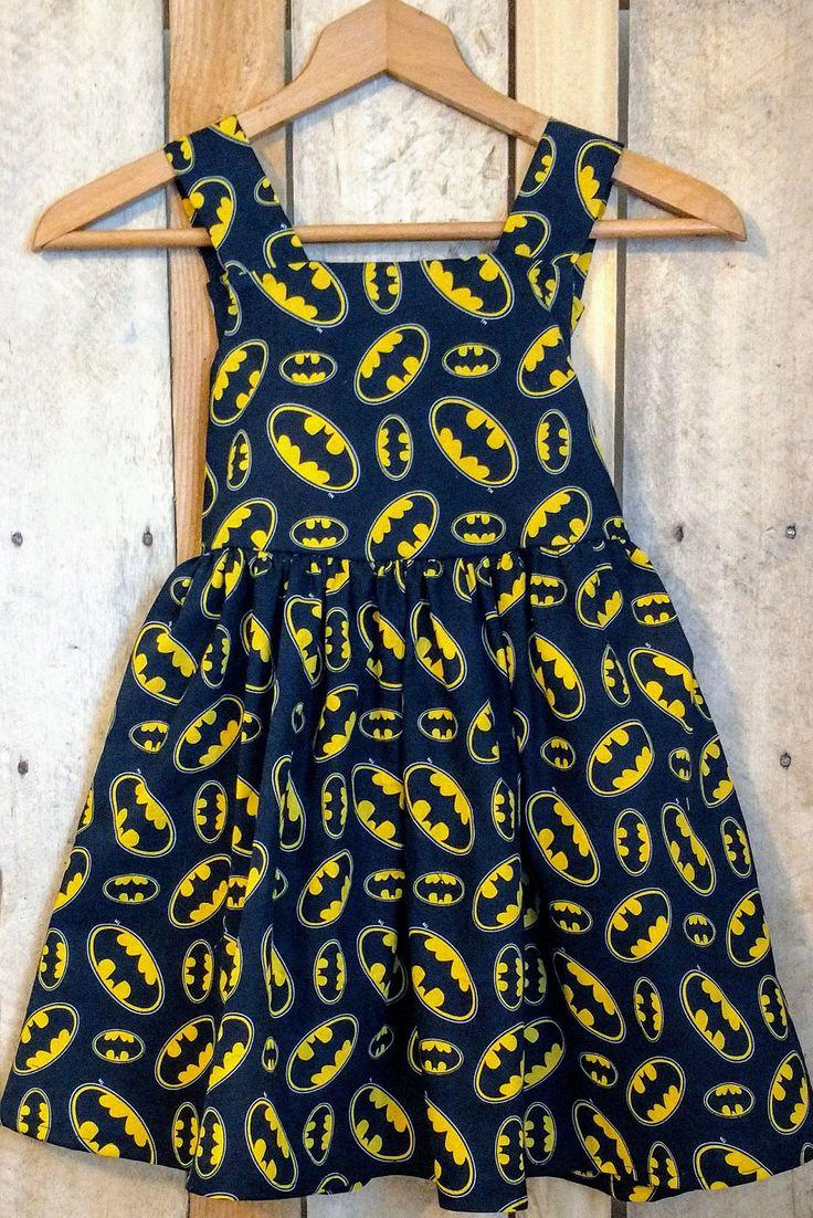 Maxi dress 4t batman