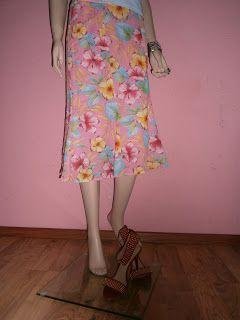 """""""VINTAGE DRESS-UP""""                                                 HAINE DE FIRMA, HAINE DE DAMA: Fusta La Liona-Paris"""