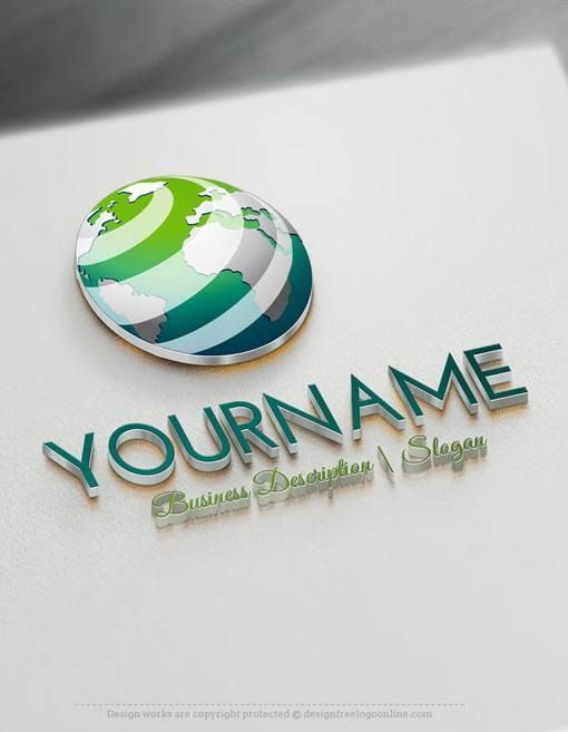 17 best images about amazing globe logo designs on for Logo 3d online