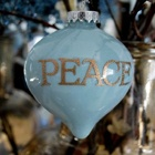 Ornament idea.Glasses Ornaments, Blue Christmas, Peace Ornaments, Diy Ornaments, Country Christmas, Christmas Ornaments, Holiday Decor, Christmas Ideas, Diy Christmas