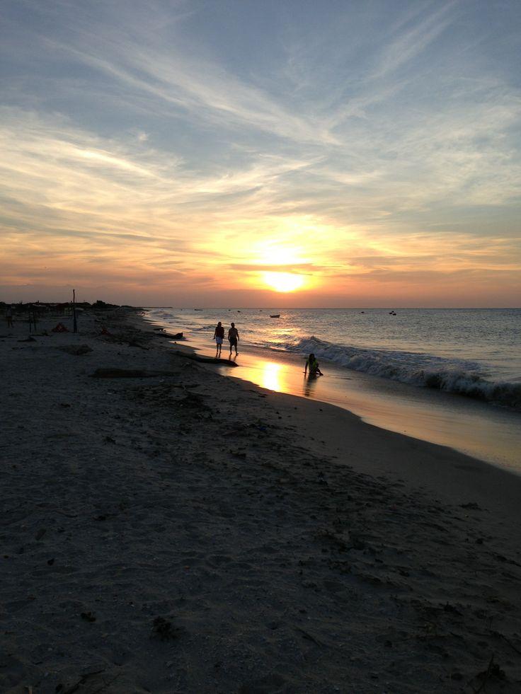 Guajira's sunset