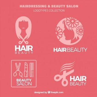 Las 25 mejores ideas sobre logos de peluqueria en for Peluqueria y salon de belleza