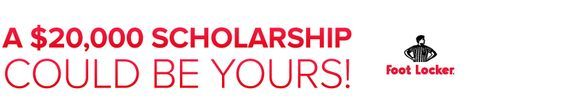 #highschool Senior #Athletes Are you an exceptional leader in the locker room, the classroom, and your community? Footlocker has a $20,000 #scholarship you need to pursue. See Details ~ Deadline: December 17, 2015 @ 5:00 pm EST