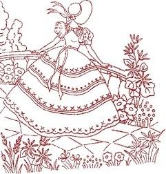 redwork embroidery borduren bordados broderie stickerei