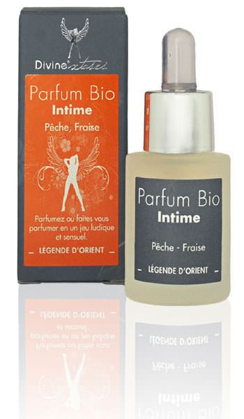 4400158000000 Parfum intime Biologique pêche-fraise - 15 ml