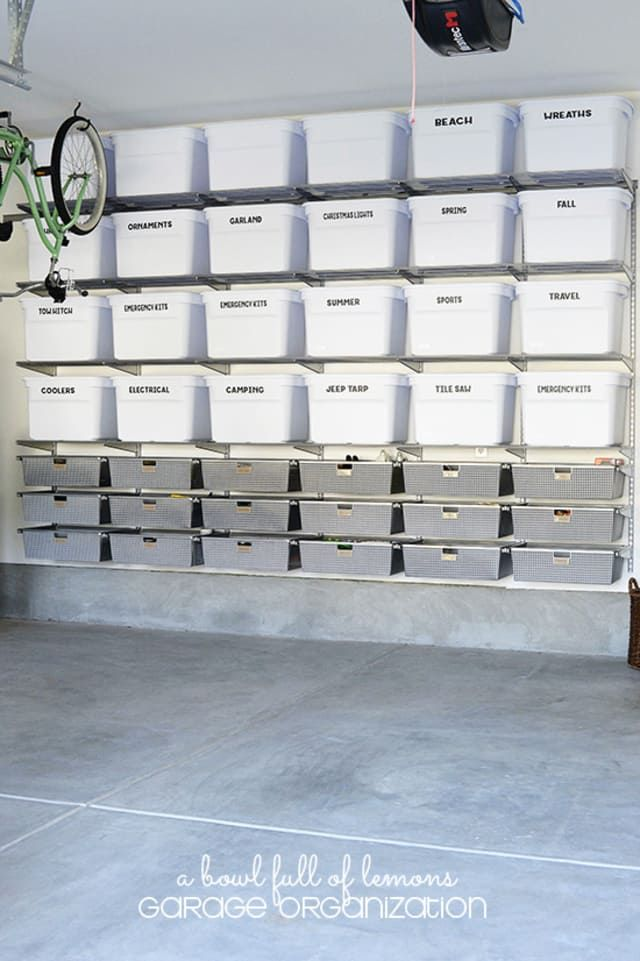 20 Clever Ideas For A Super Organized Garage Garage