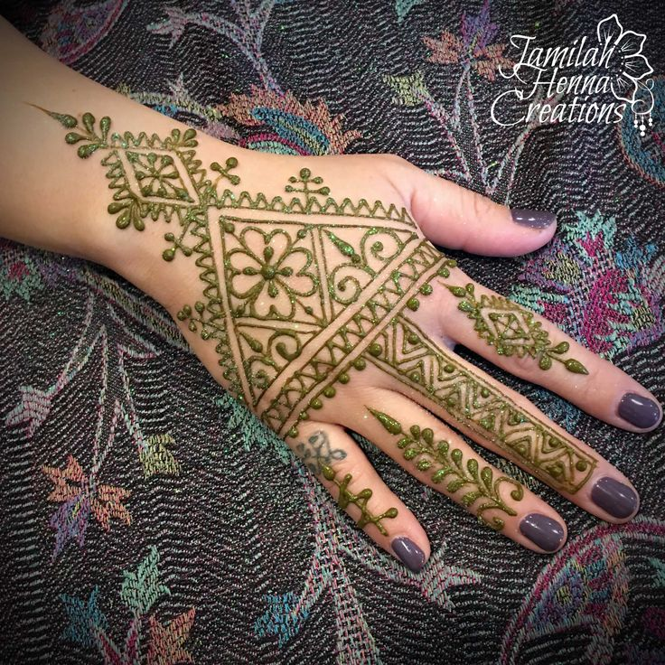 Moroccan henna  www.jamilahhennacreations.com