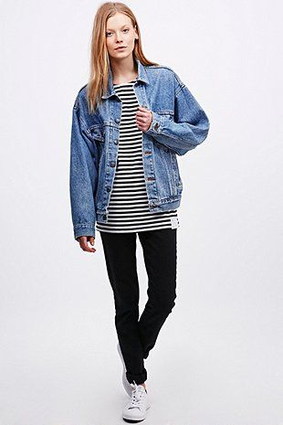 Urban Renewal Vintage Originals – Blaue Levi's-Jeansjacke im 90er-Stil - Urban Outfitters