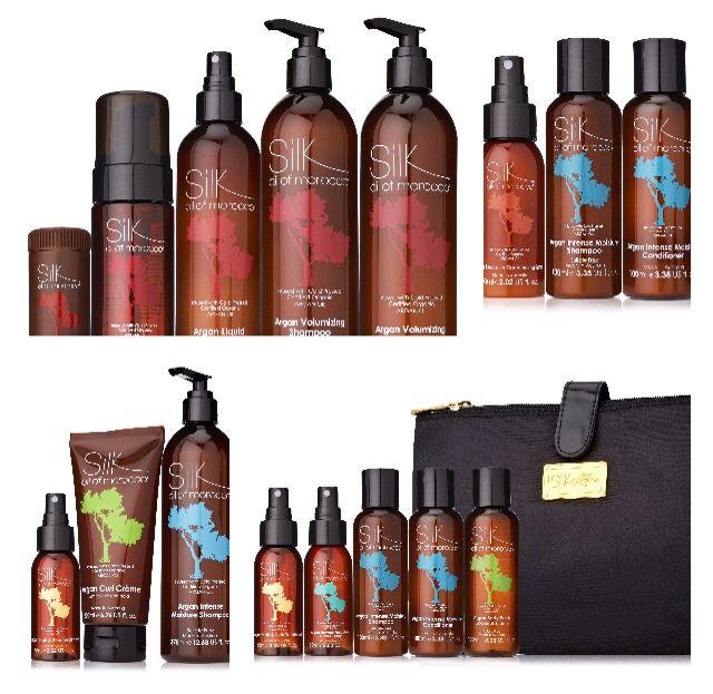 Silk Oil of Morocco sulphate free Haircare range - sofia.silkoilofmorocco.com