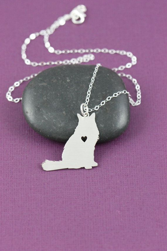 Hey, I found this really awesome Etsy listing at https://www.etsy.com/listing/219693712/sale-cat-necklace-sterling-silver-fluffy