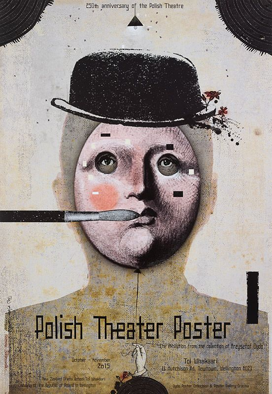Kaja Ryszard, Poster Theater Poster - New Zealand, 2015, Size: B1