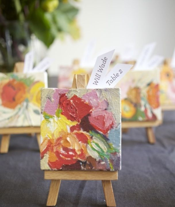 11 Mini Canvas Art Ideas