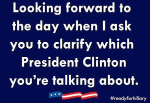 Funny Hillary Clinton Memes: Which President Clinton?