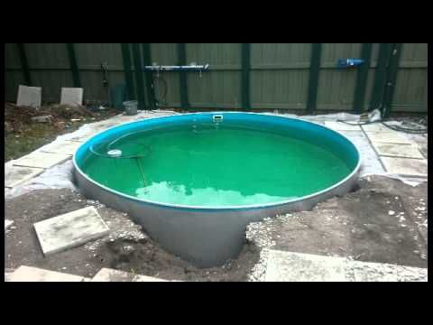 (247) Bury an above ground pool part #2.wmv - YouTube