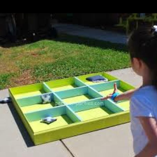 Outdoor game to make.  Looks like Fun!