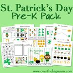 St. Patrick's Day Pre-K Pack Expansion | Over The Big Moon