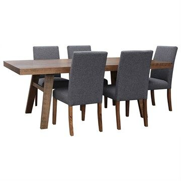Moller Solid Tasmanian Oak Timber 210cm Dining Table ( Table Only)