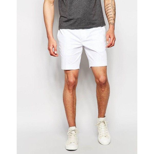 The 25  best Mens white shorts ideas on Pinterest | Men summer ...