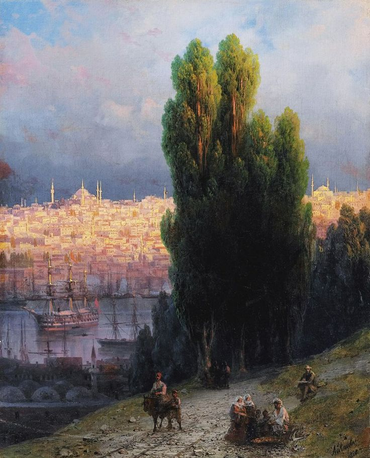 Ivan Aivazovsky | İstanbul ( 1880 )