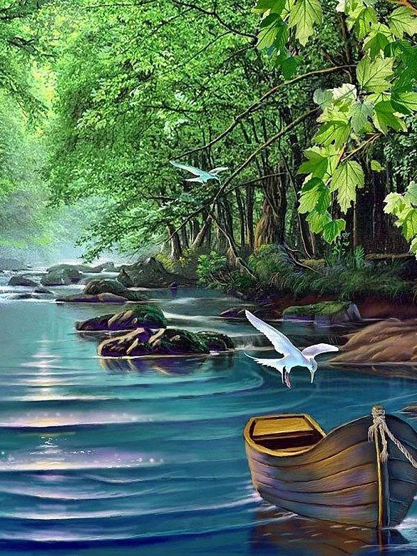 240х320 картинки анимация природа