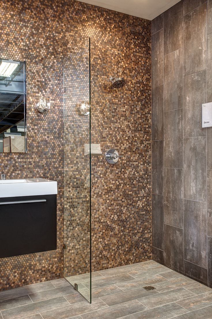 42 best metallic tones textures images on pinterest 2 in brushed copper rounds virgo negro and ledet wood tile floor fauxwood woodtile dailygadgetfo Images