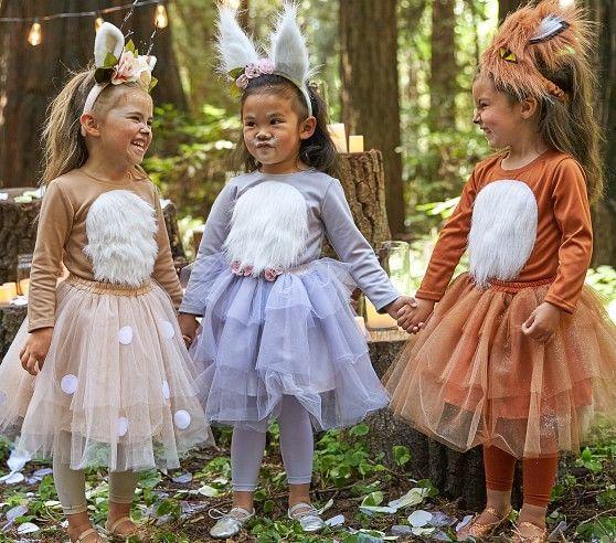 Toddler Woodland Bunny Tutu Costume