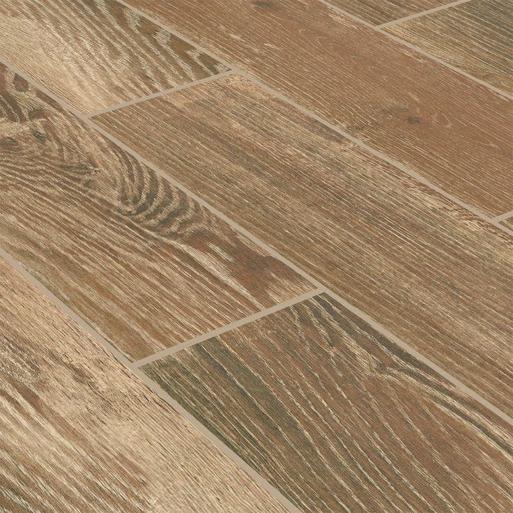 #ceramic #tile - Stonepeak Natural Timber: Cinnamon, 6