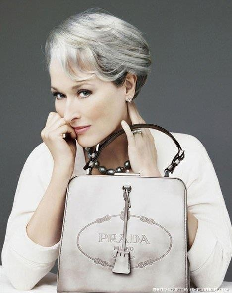 Meryl Streep as Miranda Priestly in The Devil Wears Prada.
