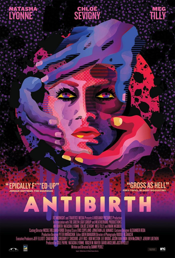 Ahead of its release next month a poster and trailer have arrived online for writer director danny perez s upcoming body horror comedy antibirth which