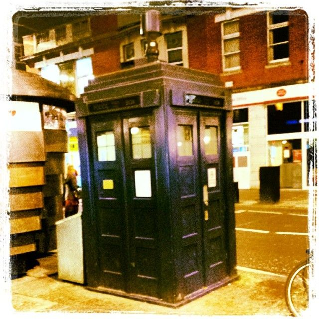 Earl's Court London Underground Station - apparently there's a TARDIS here!