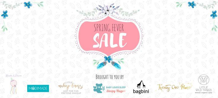 Spring Fever Sale!