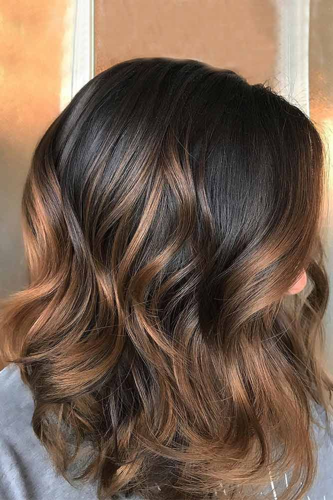 21 Ideas Of Highlights For Dark Brown Hair Beauty