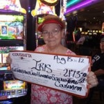 Congratulations to Iris from Texas––on August 15 she won $2,173 playing an Alice & the Enchanted Mirror slot game!