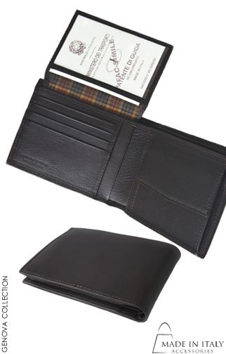 Genova Collection | Italian Leather Wallets for Men | Handmade Wallets | Made in Italy Accessories https://madeinitalyaccessories.com/wallets