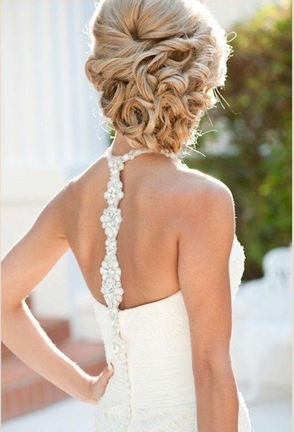 14 best wedding hairstyles images on pinterest bridal. Black Bedroom Furniture Sets. Home Design Ideas