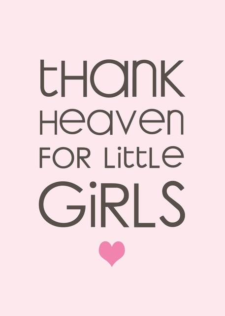 Thank Heaven for Little Girls... soon to be a momma to 3 beautiful girls!!