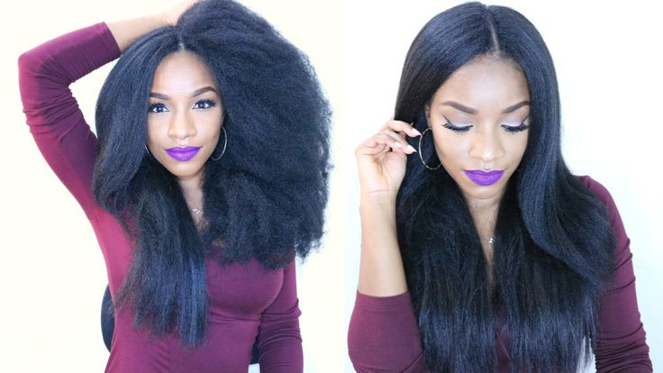 How to Do Natural-Looking invisible part Crochet Braids ...