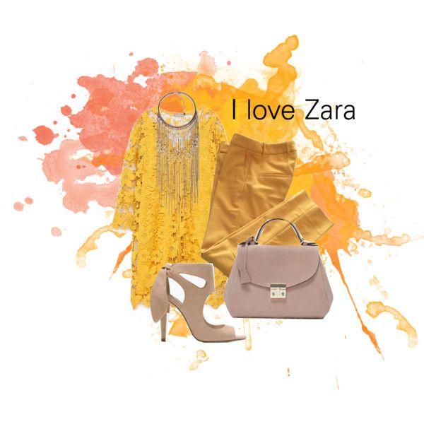 I love zara by baebaoni-bijoux on Polyvore featuring moda and Zara