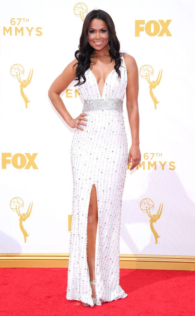 Tracey Edmonds from 2015 Emmys: Red Carpet Arrivals | E! Online