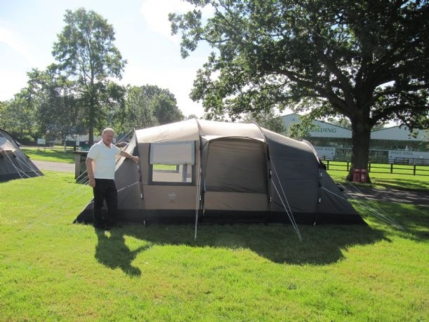 Tents - Fantastic family six berth Tunnel Tent with standing room  3 separate bedrooms u0026 a living room. O Meara C&ing for Tents. | Tents | Pinterest & Tents - Fantastic family six berth Tunnel Tent with standing room ...