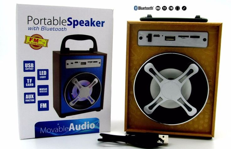 Altavoz Portátil Bluetooth Micro SD MP3 FM NUEVO ALTA CALIDAD SÚPER PRECIO!!!!!