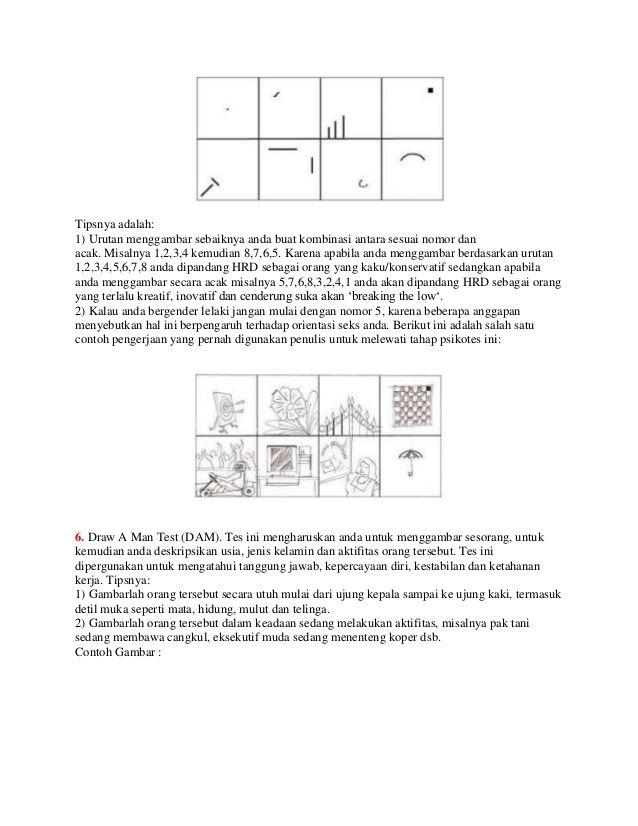Tes Psikotes Menggambar Titik : psikotes, menggambar, titik, Psikotest