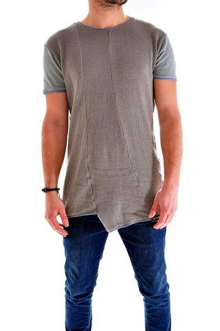 Tricou handmade unicat pentru barbati, marca Different Cut